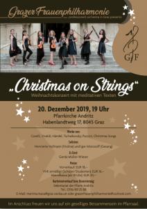 "Weihnachtskonzert ,,Christmas on Strings"""