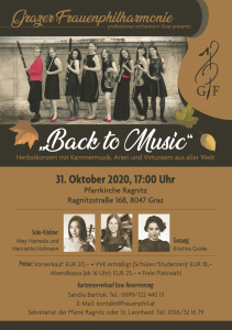,,Back to Musik'' Herbstkonzert